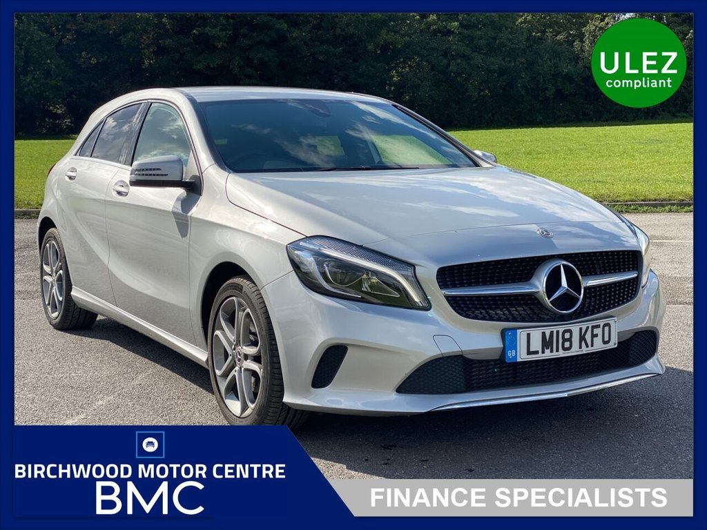 USED 2018 18 MERCEDES-BENZ A-CLASS 1.6 A 180 SPORT EDITION 5d 121 BHP. 1 OWNER, Just 17,000m, FSH, ULEZ COMPLIANT, SAT NAV, IMMACULATE THROUGHOUT!! REMAINDER OF MANUFACTURERS WARRANTY REMAINING