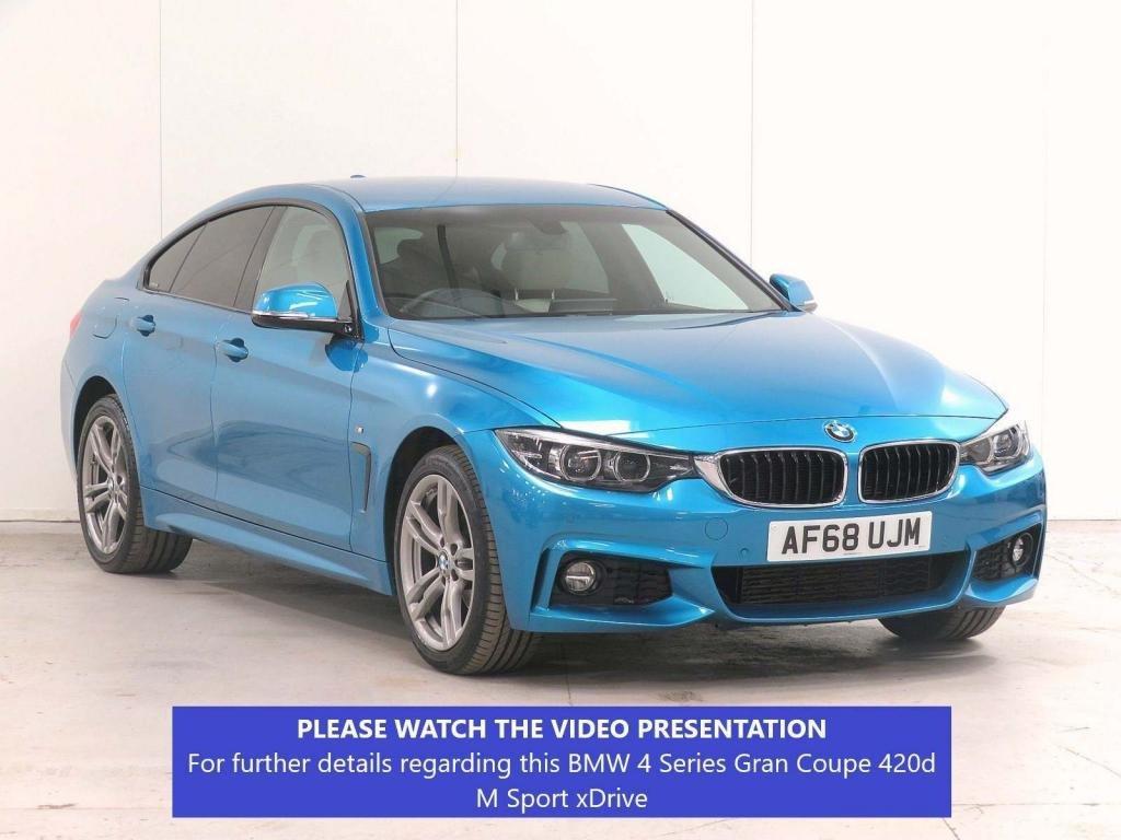 USED 2018 68 BMW 4 SERIES GRAN COUPE 2.0 420d M Sport Auto xDrive (s/s) 5dr £2,290 XTRA*CAMERA*FBMWSH*VATQ