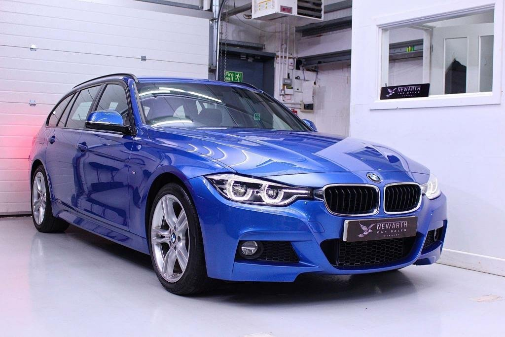 USED 2017 17 BMW 3 SERIES 2.0 320d M Sport Touring Auto (s/s) 5dr 1 Owner | Full Black Leather