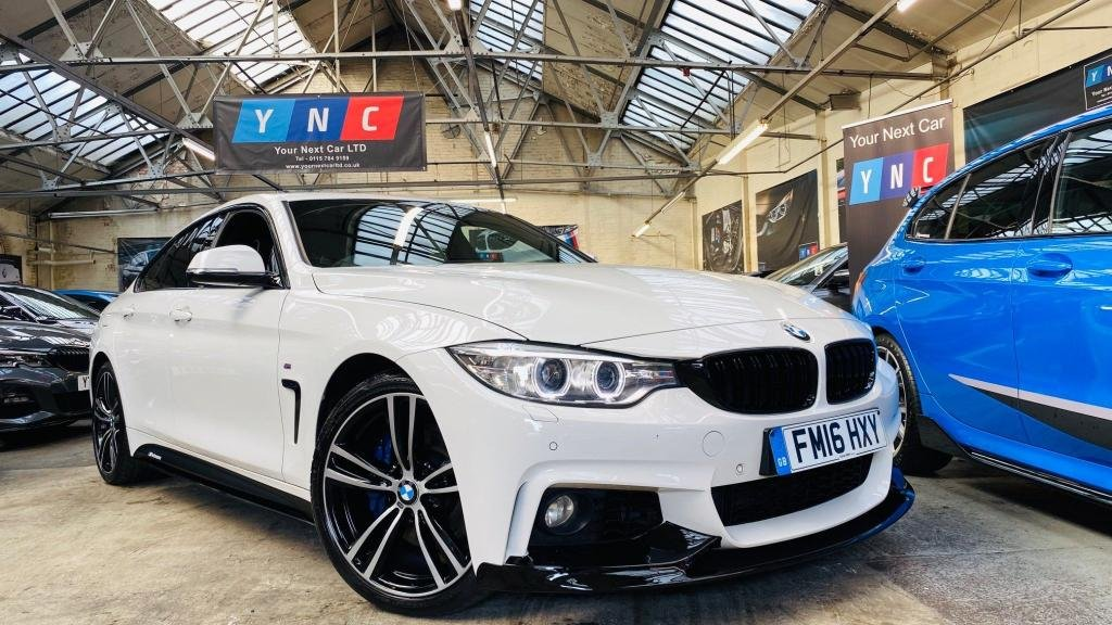 USED 2016 16 BMW 4 SERIES 2.0 420d M Sport Gran Coupe (s/s) 5dr PERFORMANCEKIT+INDVILTHR++PACK