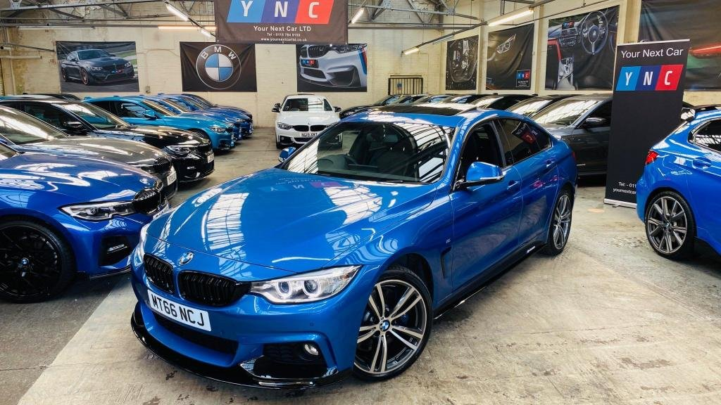 USED 2017 67 BMW 4 SERIES 3.0 435d M Sport Gran Coupe Auto xDrive (s/s) 5dr PERFORMANCEKIT+SUNROOF+PLUSPAK