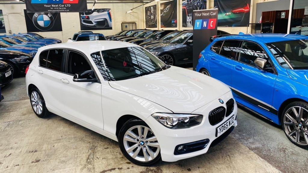USED 2015 65 BMW 1 SERIES 1.5 118i Sport (s/s) 5dr YNCSTYLING+SATNAV+PRIVACY