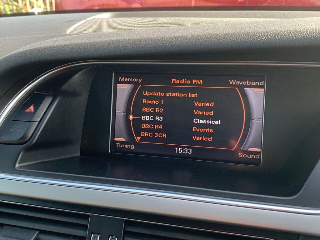 USED 2012 12 AUDI A4 2.0 TDI S LINE 4d 141 BHP