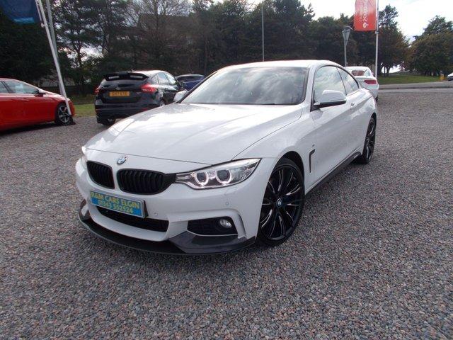 2016 65 BMW 4 SERIES 2.0 420D XDRIVE M SPORT 2d 188 BHP