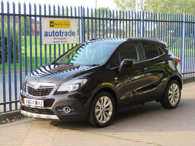 USED 2015 64 VAUXHALL MOKKA 1.6 SE S/S 5d 113 BHP ULEZ COMPLIANT HEATED LEATHER SEATS AND STEERING WHEEL, CRUISE, DAB, BLUETOOTH FULL LEATHER, HEATED FRONT SEATS, HEATED LEATHER STEERING WHEEL, CRUISE CONTROL, DAB RADIO, BLUETOOTH, ALLOYS, FRONT AND REAR PARKING SENSORS