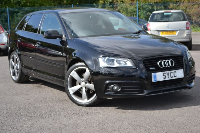 USED 2012 12 AUDI A3 2.0 SPORTBACK TDI QUATTRO S LINE SPECIAL EDITION 5d 168 BHP SAT NAV ~ BLUETOOTH~ BOSE ~ CAMBELT JUST REPLACED