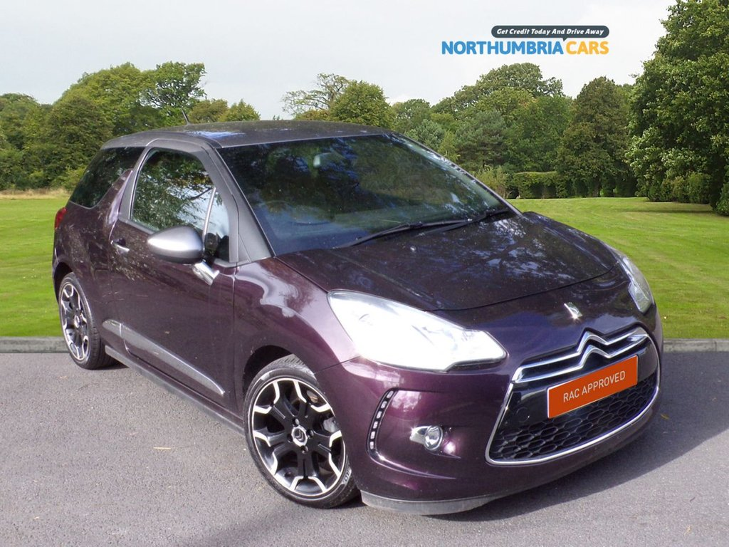 USED 2014 64 CITROEN DS3 1.6 E-HDI DSTYLE PLUS 3d 90 BHP