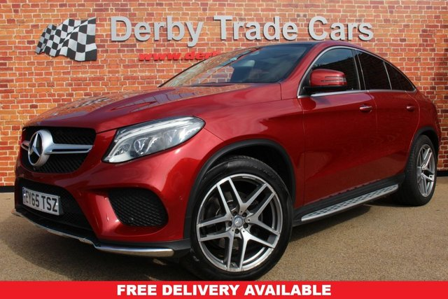 MERCEDES-BENZ GLE-CLASS at Derby Trade Cars