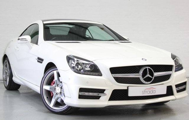 2011 11 MERCEDES-BENZ SLK 1.8 SLK250 BLUEEFFICIENCY AMG SPORT 2d 204 BHP