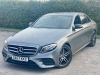 USED 2017 67 MERCEDES-BENZ E-CLASS 2.0 E 220 D AMG LINE PREMIUM PLUS 4d 192 BHP FULL SCREEN SATELLITE NAVIGATION, ALLOY WHEELS