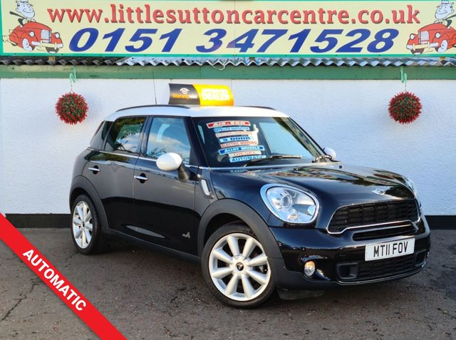 USED 2011 11 MINI COUNTRYMAN AUTOMATIC 2.0 COOPER SD ALL4 5d 141 BHP COOPER SD AUTOMATIC, FULL LEATHER,  FINANCE AVAILABLE