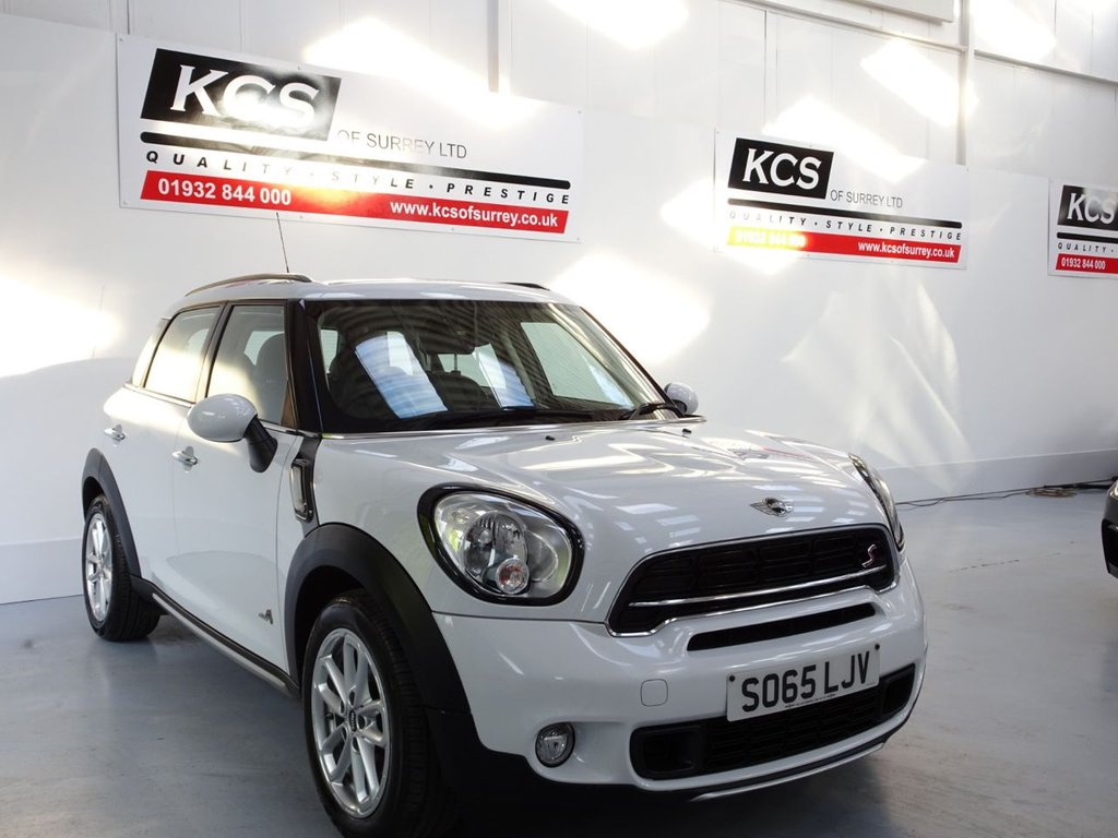 USED 2015 65 MINI COUNTRYMAN 2.0 COOPER SD ALL4 5d 141 BHP ALL4 - SAT NAV - LEATHER