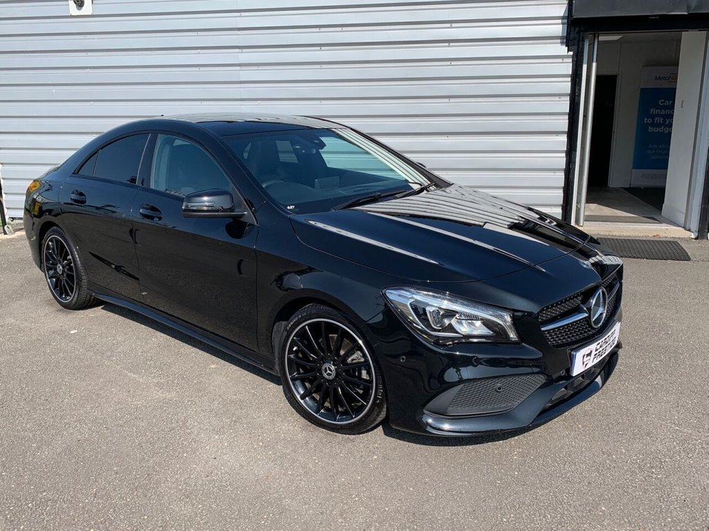 USED 2019 68 MERCEDES-BENZ CLA 1.6L CLA 200 AMG LINE NIGHT EDITION PLUS 4d 154 BHP LOTS OF EXTRAS!!