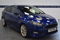 USED 2015 15 FORD FOCUS 1.5 ZETEC S 5d 150 BHP (5 STAMP FORD HISTORY - AIR CON)