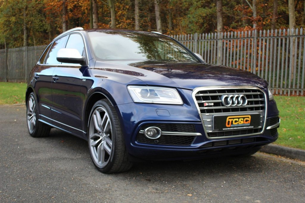 USED 2014 14 AUDI Q5 3.0 SQ5 TDI QUATTRO 5d 309 BHP A LOW OWNER SQ5 WITH GOOD SPECIFICATION AND FULL SERVICE HISTORY!!!
