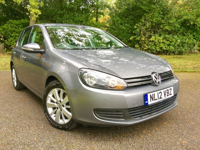 2012 12 VOLKSWAGEN GOLF 1.4 MATCH TSI 5d 121 BHP  ONLY 1 OWNER WITH ONLY 30,758 MILES AND X8 SERVICE STAMPS/DAB RADIO/BLUETOOTH
