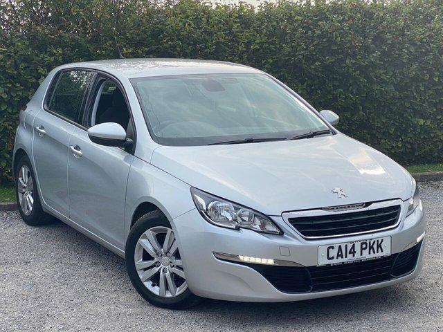 USED 2014 14 PEUGEOT 308 1.6 HDI ACTIVE 5d 92 BHP SATELLITE NAVIGATION, ALLOY WHEELS