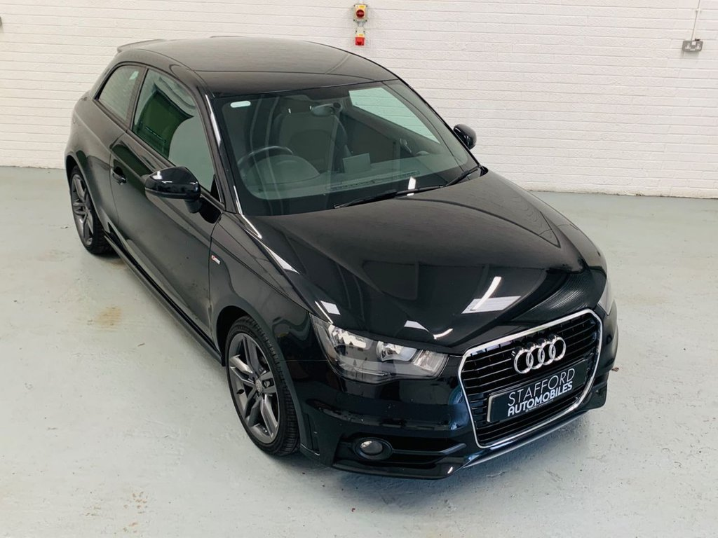 USED 2014 14 AUDI A1 1.6 TDI S LINE 3d 105 BHP 1 OWNER FROM NEW, FREE TAX, PDC