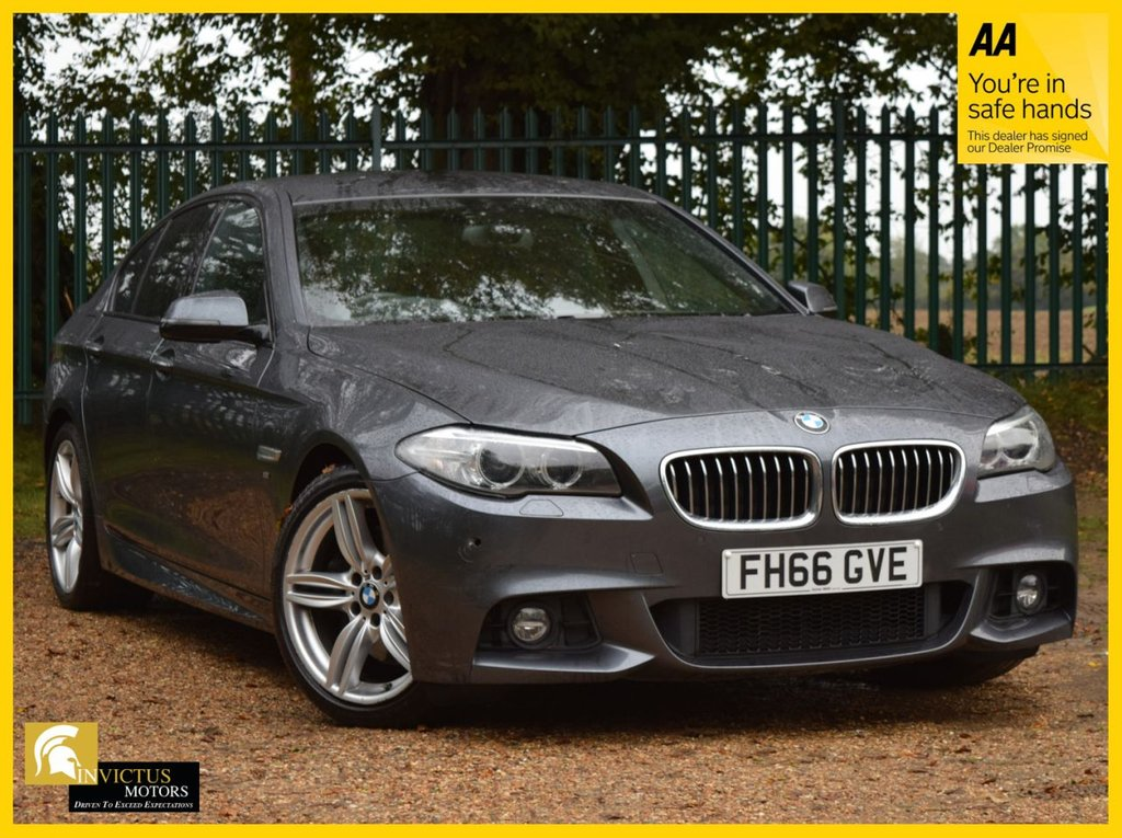 USED 2016 66 BMW 5 SERIES 3.0 535D M SPORT 4d 309 BHP