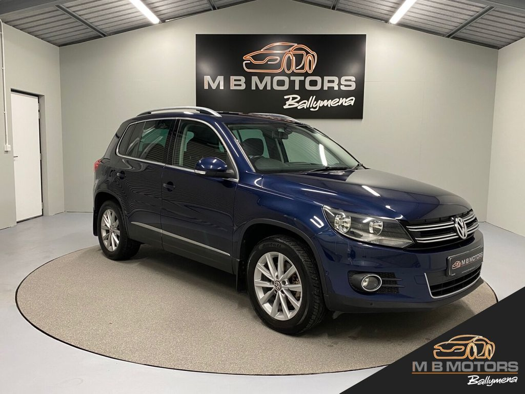 USED 2011 VOLKSWAGEN TIGUAN SE 2.0TDI BLUEMOTION TECHNOLOGY 4MOTION 5d 138 BHP