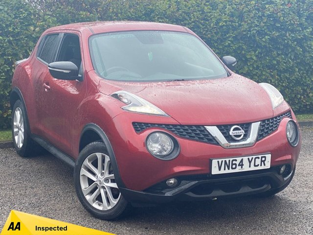 USED 2014 64 NISSAN JUKE 1.5 ACENTA PREMIUM DCI 5d SERVICE HISTORY, MOT UNTIL AUGUST 2021, BLUETOOTH, SATELLITE NAVIGATION, REVERSING CAMERA