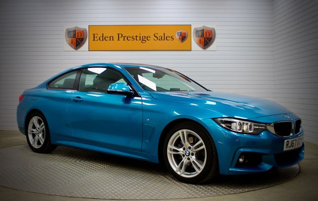 USED 2017 67 BMW 4 SERIES 2.0 430I M SPORT Auto [Professional Media] 2dr 252 BHP