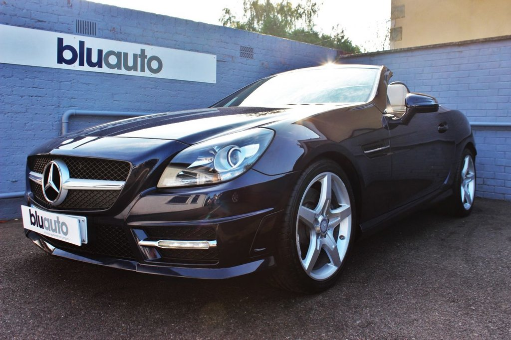 USED 2015 15 MERCEDES-BENZ SLK 2.1 SLK 250 D AMG SPORT 2d 201 BHP 2 Owners, Full Service History, Over 70MPG, Tax £30!!!