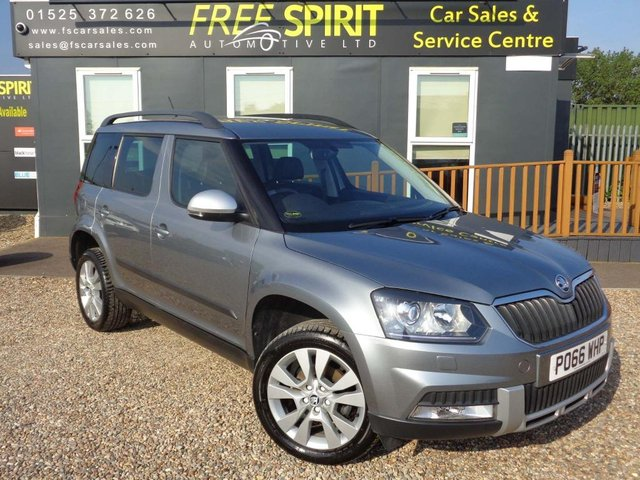 USED 2016 66 SKODA YETI 1.2 TSI SE L Outdoor (s/s) 5dr Leather, Bluetooth, Cruise