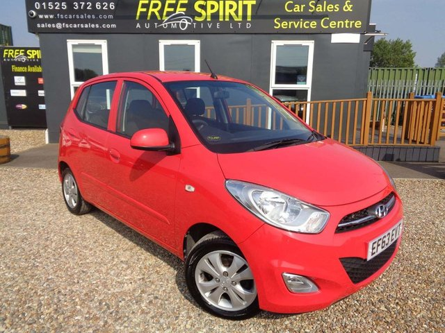 USED 2014 63 HYUNDAI I10 1.2 Active 5dr Low Mileage, 2 Owners