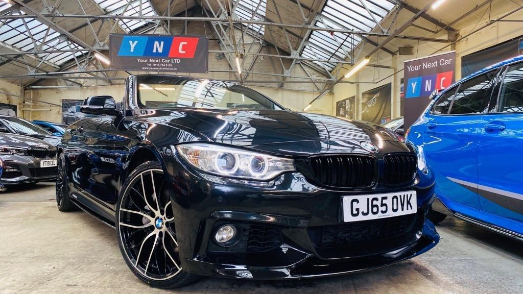 USED 2015 65 BMW 4 SERIES 3.0 435d M Sport xDrive 2dr PERFORMANCEKIT+20S+MEMSEATS!