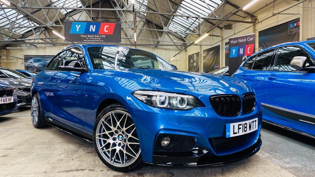 USED 2018 18 BMW 2 SERIES 1.5 218i M Sport (s/s) 2dr PERFORMANCEKIT+COMPS!+SATNAV