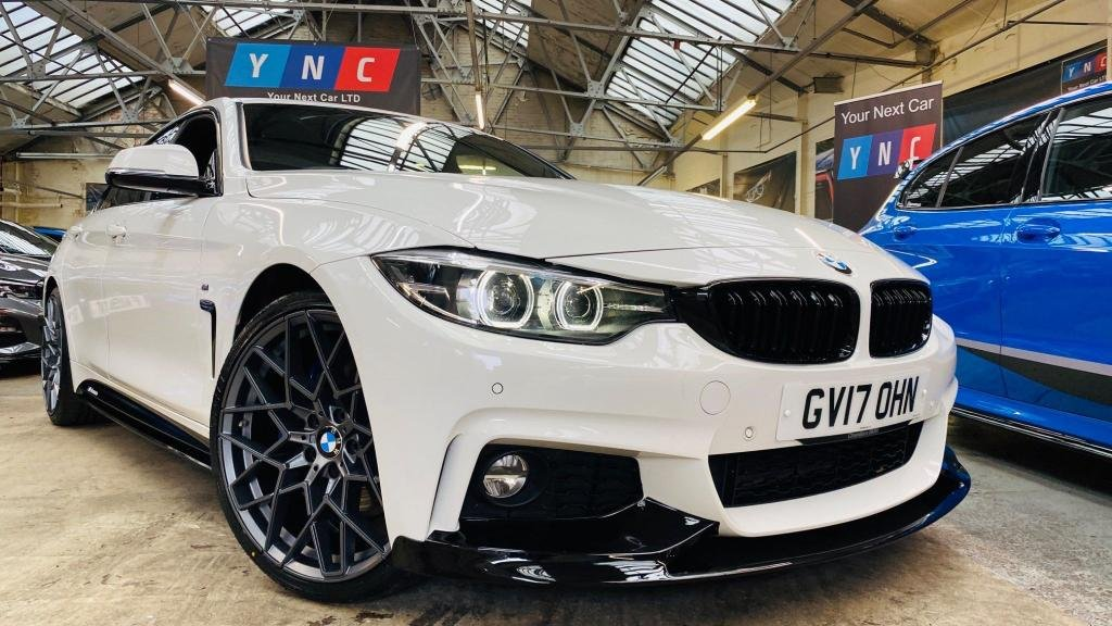 USED 2017 17 BMW 4 SERIES 2.0 420d M Sport Gran Coupe (s/s) 5dr PERFORMANCEKIT+20S+PLUSPACK