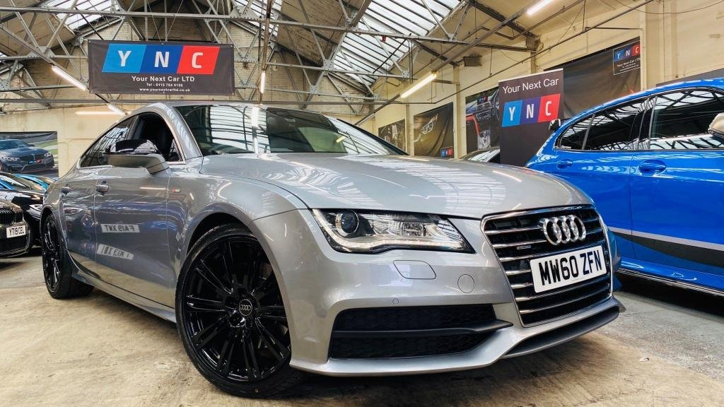USED 2011 60 AUDI A7 3.0 TDI S line Sportback S Tronic quattro 5dr BLACKPACK+20S+REVCAM