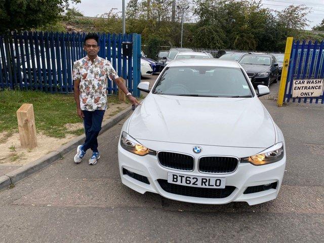 2013 62 BMW 3 SERIES 2.0 318D M SPORT 4d 141 BHP