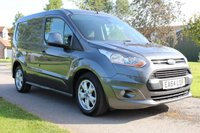 USED 2014 64 FORD TRANSIT CONNECT 1.6 200 LIMITED P/V 114 BHP NO VAT FULL HISTORY GREY LIMITED WARRANTY INCLUDED