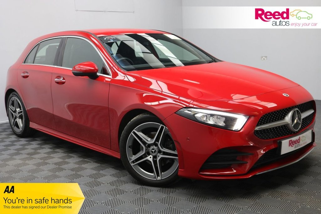 USED 2018 18 MERCEDES-BENZ A-CLASS 1.5 A 180 D AMG LINE PREMIUM 5d 114 BHP 1OWN+FULL SERV HIST+LOW MILES