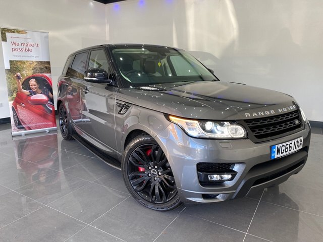 USED 2016 66 LAND ROVER RANGE ROVER SPORT 3.0 SDV6 AUTOBIOGRAPHY DYNAMIC 5d 306 BHP Heated Front and Rear Seats