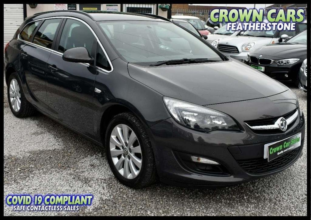 USED 2015 65 VAUXHALL ASTRA 2.0 CDTi Tech Line Sport Tourer (s/s) 5dr AMAZING LOW RATE FINANCE DEALS