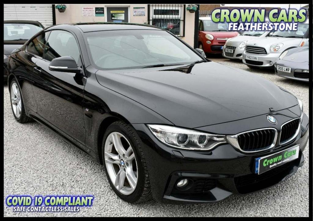 USED 2014 64 BMW 4 SERIES 2.0 420d M Sport 2dr ONE FORMER WITH FULL HISTORY