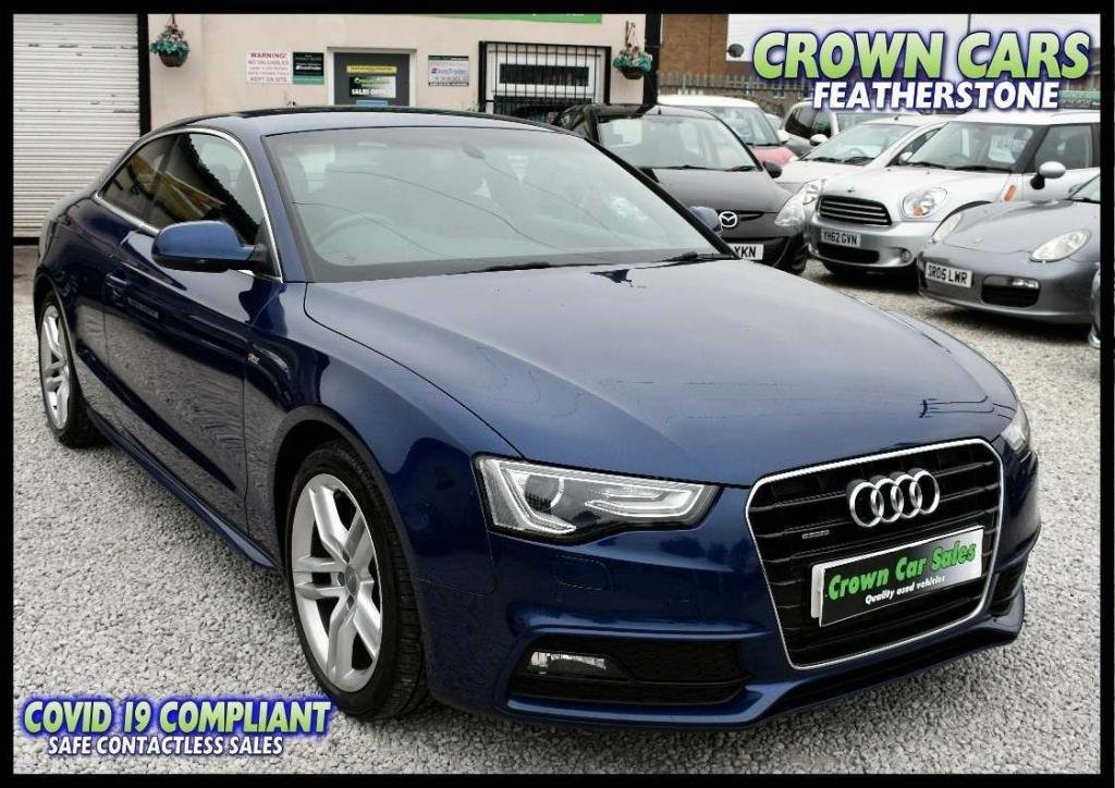 USED 2013 63 AUDI A5 2.0 TD S line S Tronic quattro 2dr BUY ONLINE & FREE DELIVERY*