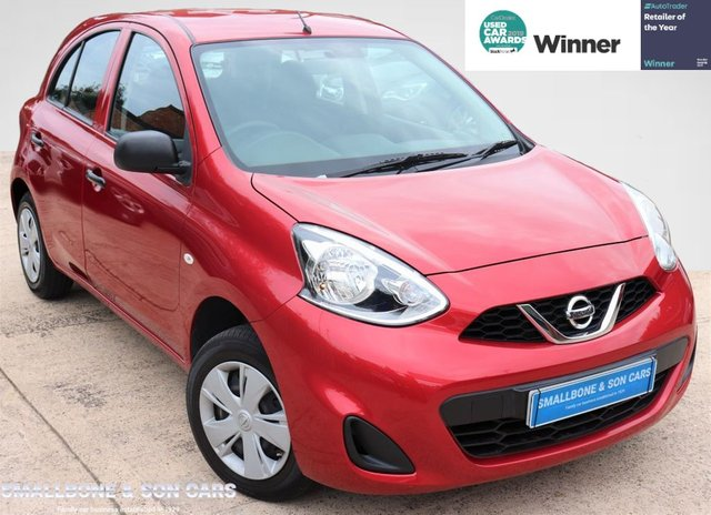 USED 2015 65 NISSAN MICRA 1.2 VISIA 5d 79 BHP * BUY ONLINE * FREE NATIONWIDE DELIVERY *