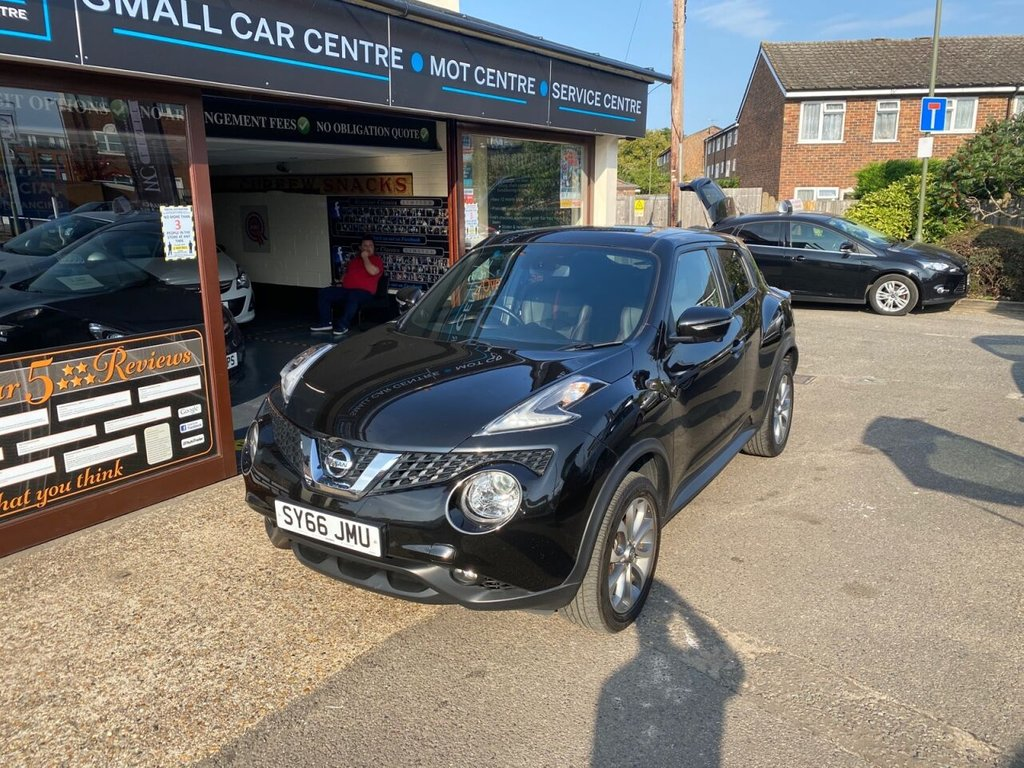 USED 2016 66 NISSAN JUKE 1.2 TEKNA DIG-T 5d 115 BHP SATNAV - FULL LEATHER - BLUETOOTH - PARKING CAMERAS