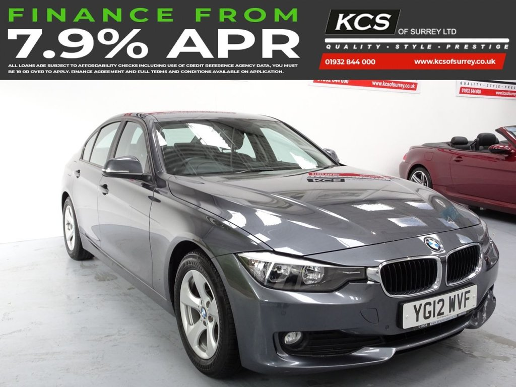USED 2012 12 BMW 3 SERIES 2.0 320D EFFICIENTDYNAMICS 4d 161 BHP PRO NAV -  HEATED LEATHER