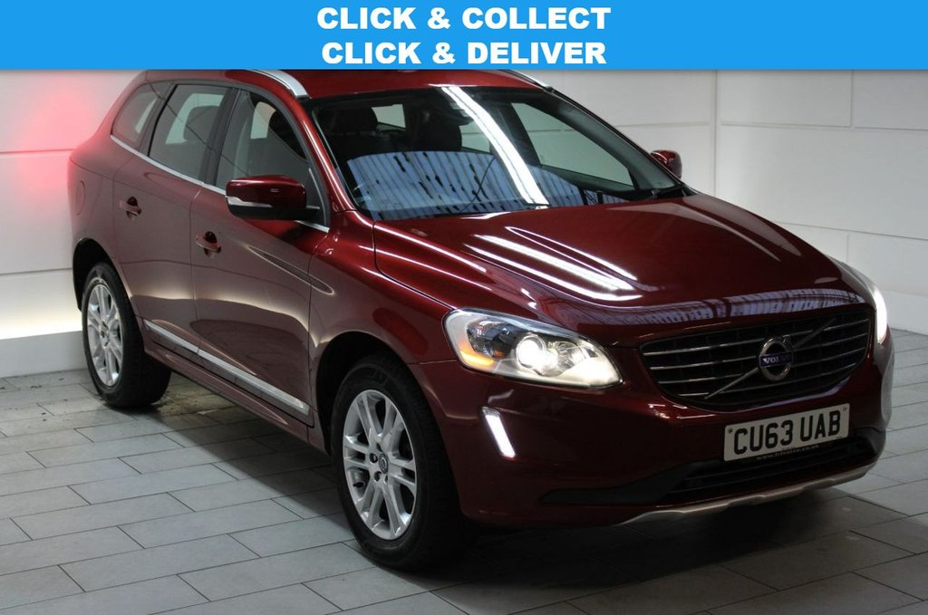 USED 2013 63 VOLVO XC60 2.0 D4 SE Lux Geartronic