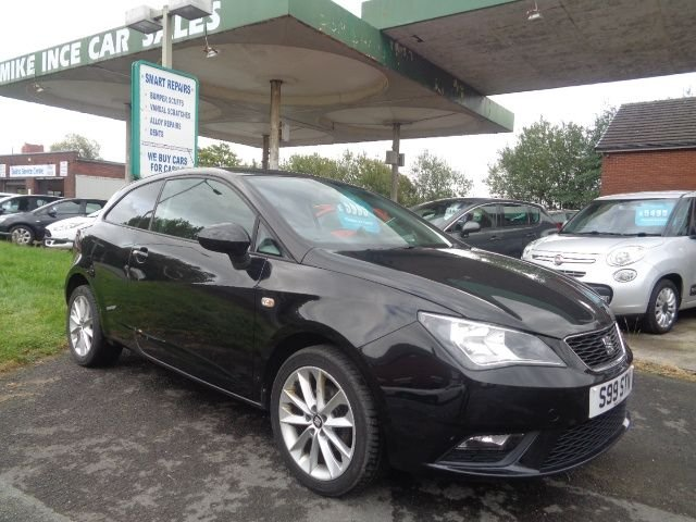 USED 2015 S SEAT IBIZA 1.4 TOCA 3d 85 BHP 5 SERVICE STAMPS