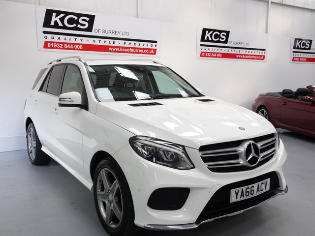 View our MERCEDES-BENZ GLE CLASS
