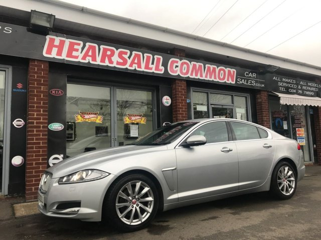 USED 2013 63 JAGUAR XF 3.0 D V6 PREMIUM LUXURY 4d 240 BHP