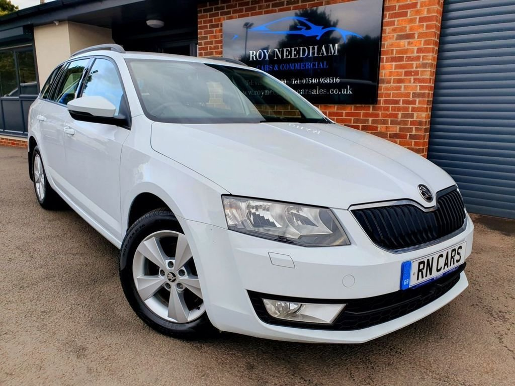 USED 2017 17 SKODA OCTAVIA 1.6 SE L TDI 5DR 109 BHP *** FINANCE ME TODAY - SAT NAV  ***