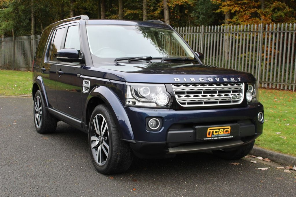 USED 2015 15 LAND ROVER DISCOVERY 4 3.0 SDV6 HSE LUXURY 5d 255 BHP A STUNNING HIGH SPECIFICATION DISCOVERY 4 WITH REAR TV SCREENS, FULL HISTORY, BLACK LEATHER AND MORE!!!