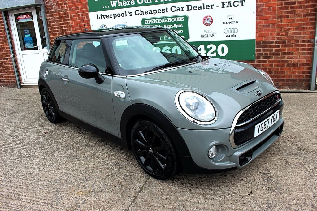 USED 2017 67 MINI HATCH COOPER 2.0 COOPER S 3d AUTO 189 BHP +CHILI PACK +MEDIA TECH PACK.